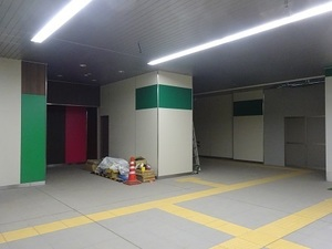 立体交差事業2019年8月19日 地元の駅